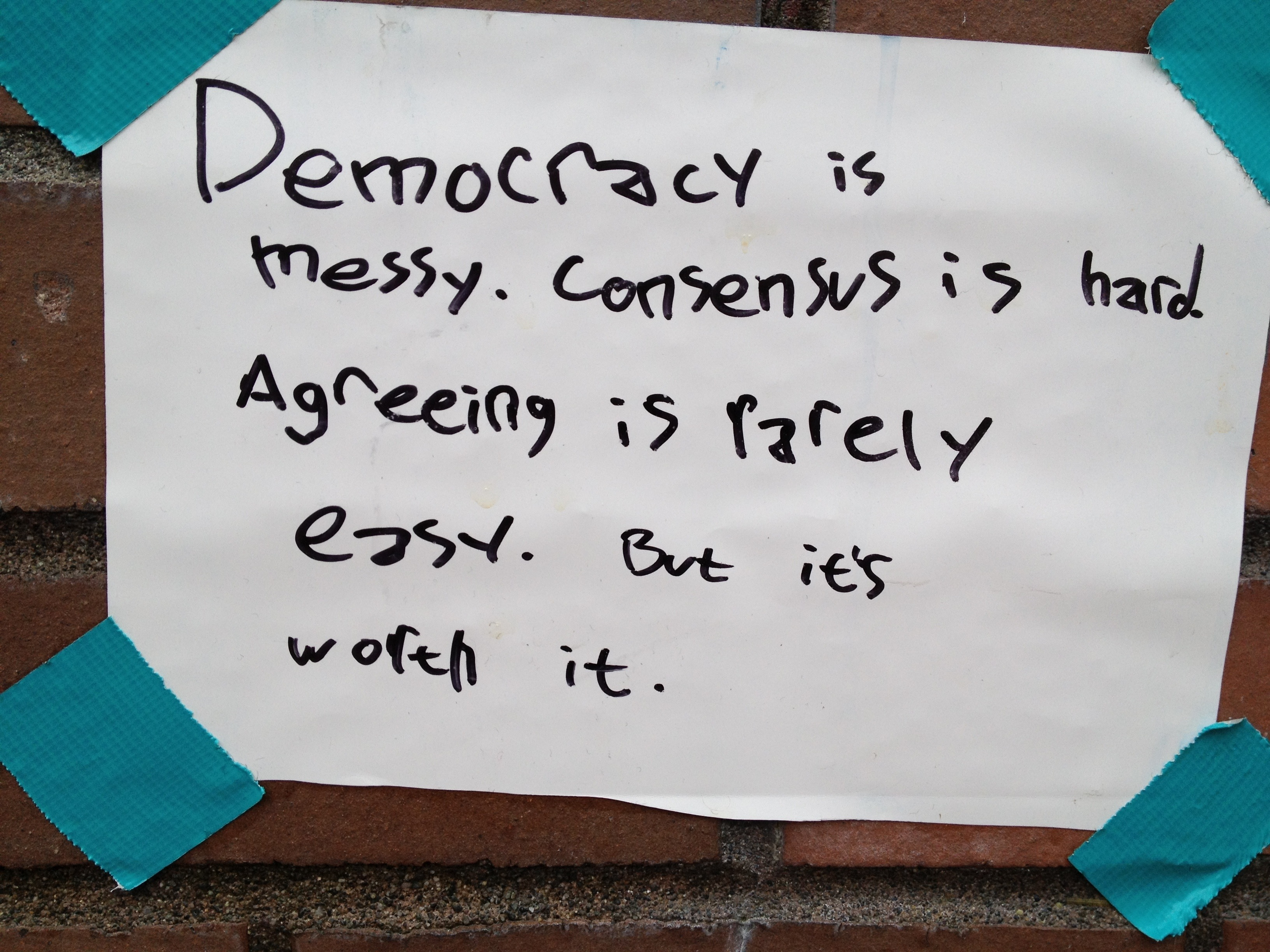 DemocracyIsMessySign/OccupySeattle.jpg